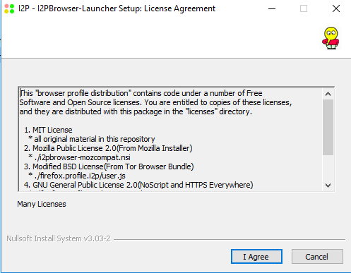 Accpt the License Agreement